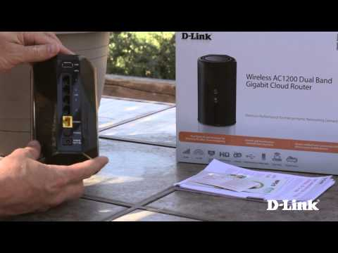 Getting Started: Wireless AC1200 Dual Band Gigabit Router (DIR-850L)