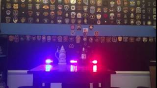 Warningworx Hero Beacon Blue Line Police Bar