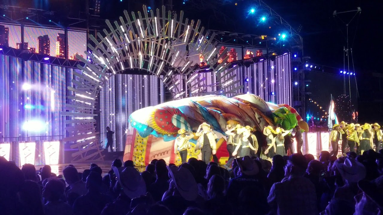 Grandstand Show And The Fireworks At Calgary Stampede 2018