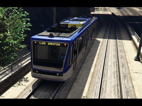 GTA V Mods | Showcases | KTM Komuter (Malaysia) Metro Train Skin