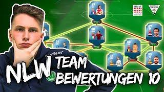 Ich bewerte EURE FUT TEAMS I FIFA 17 NLW Squadbuilder