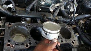 Toyota Corolla 7afe 4afe Engine rebuild Install pistions, cylinder head, set engine timing 2015