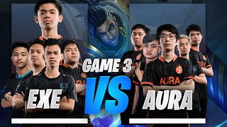 EXECRATION vs AURA PH UPPER BRACKET FINALS GAME 3