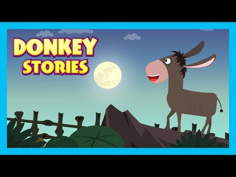 Donkey Stories - Tia and Tofu Storytelling || Kids Hut Stories - Moral Stories To learn For Kids