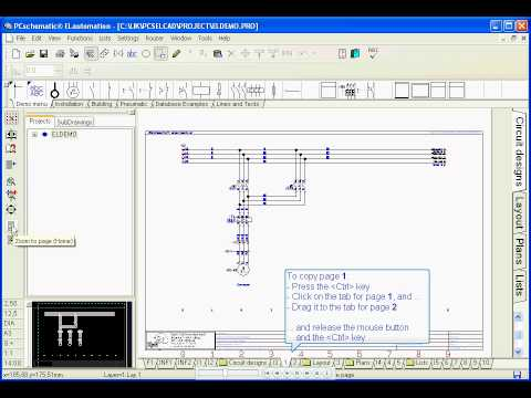 Electrical cad how to copy areas in pcschematic for Copy cad