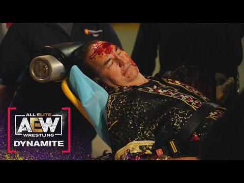 What did Jericho and MJF do to Papa Buck? | AEW Dynamite