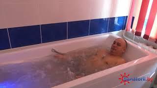 Санаторий Ислочь - обзор процедуры гидромассаж, Санатории Беларуси