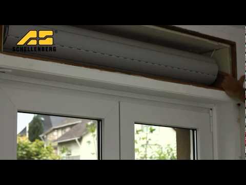 Schellenberg - Montage Rollladenantrieb & Dämmung