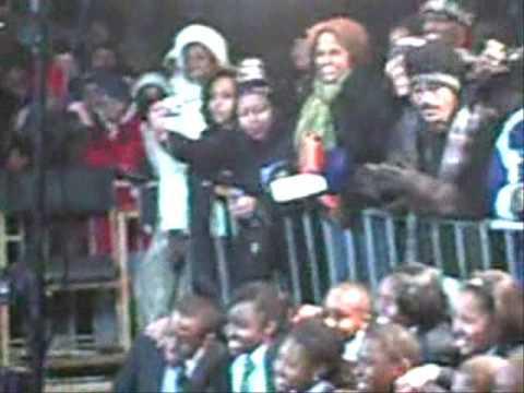 Watch NATEPERKKINS TV : Atlanta school kids road trip Washington Obama Inaugural