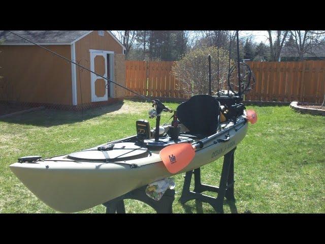 Ocean Kayak Trident 11 (w/ Mods)
