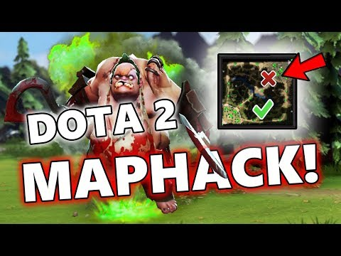 Dota 2 Maphack + Auto Dewarding by Pudge, VALVE PLS FIX IT