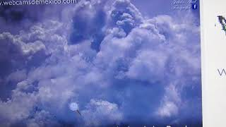 MEXICO: VOLCANO, THUNDER, LIGHTNING, HADN'T SEEN SUCH CLOUDS LIKE THIS N A LONG TIME