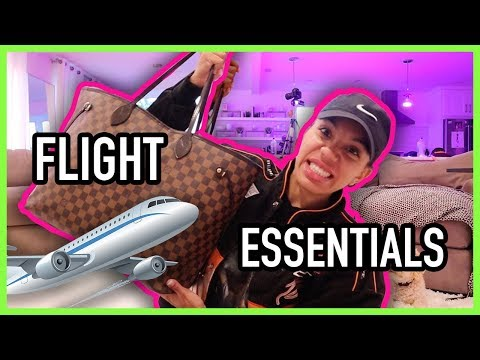 AIRPLANE CARRY-ON ESSENTIALS | What's in my Travel Bag???