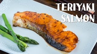 How To Make Teriyaki Salmon (Recipe) 照り焼きサーモンの作り方レシピ