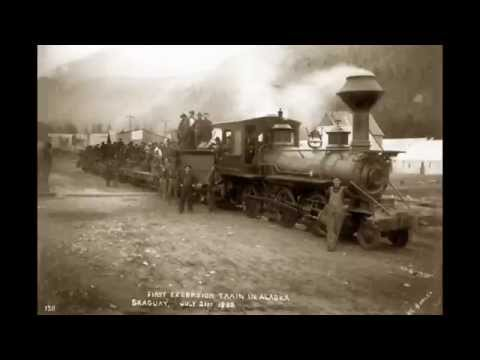 Narrow gauge mountain railway. Shock ending, Alaska White Pass & Yukon