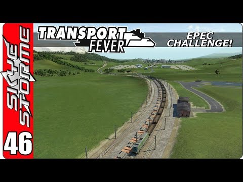 Transport Fever EPEC Challenge Ep 46 - IMPROVING THE RAIL NETWORK!
