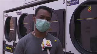 【冠状病毒19】自助洗衣店生意下跌三到五成