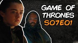 Arya cabulosa em GAME OF THRONES S07E01 | Discussão do episódio
