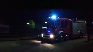 Volvo FL 240 GBA 551N23 JRG Szczytno alarmowo do pożaru sadzy  w miejscowości Przeździęk Mały.