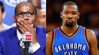 Kevin durant regrets joining warriors and leaving okc thunder | nba news