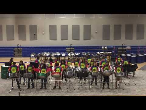 Raa Middle School 2018 Advanced Steelband: Tropical Thunder performing High Mas