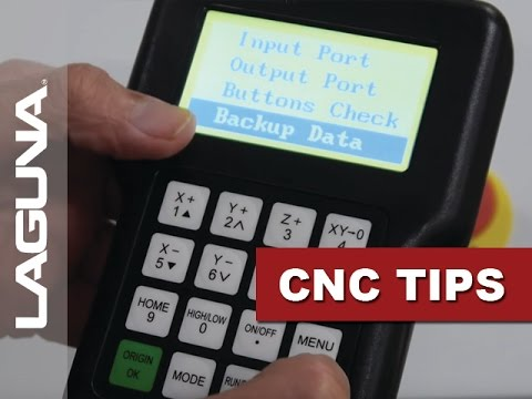 CNC Tech Tips - Backing Up Settings On Handheld Controller - Vol 507