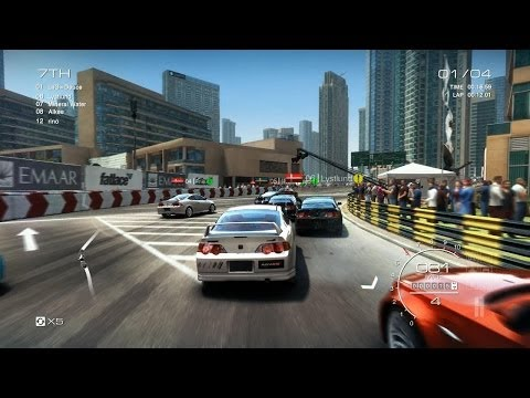 Grid Autosport PC: Multiplayer Race - Honda Integra Type R DC5 in Dubai, Street Discipline