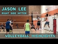 JASON LEE Volleyball Highlights - NCVA League 3 Tournament 2017