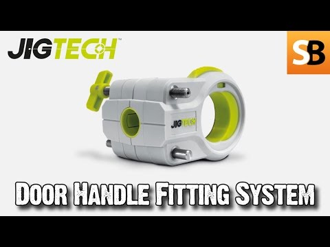 How to  Fit a Jigtech Pro Smart Door Handle