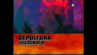 SEPULTURA live at Stahlwerk, Germany 1996