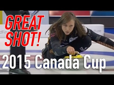 Rachel Homan -  Triple Raise Double Takeout - 2015 Home Hardware Canada Cup of Curling