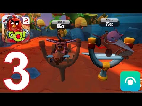 Angry Birds Go! 2.0 - Gameplay Walkthrough Part 3 - Campaign 3: Bubbles (iOS, Android)