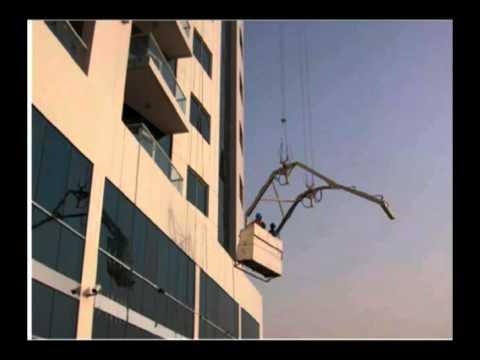 """CTBUH 2008 Dubai Congress - Herzog & Citadel, """"Facade Access for the Burj Dubai"""""""