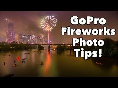 BEST GoPro Fireworks Photo Setting Tips! GoPro Tip #648 | MicBergsma