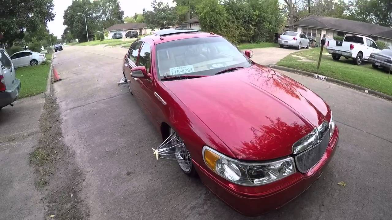 Candy Red Lincoln Town Car Bulldogtv Youtube