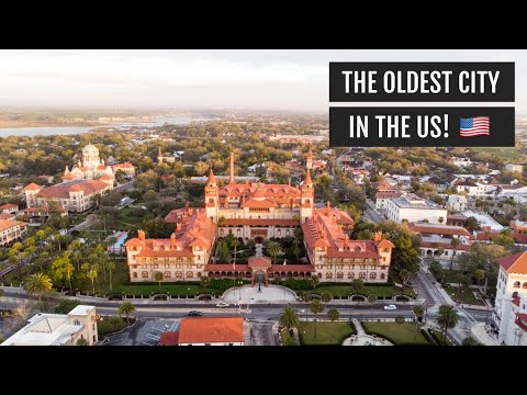 Exploring the Oldest City in the US: St. Augustine, Florida! (Coffee, Food, & Things to Do!)