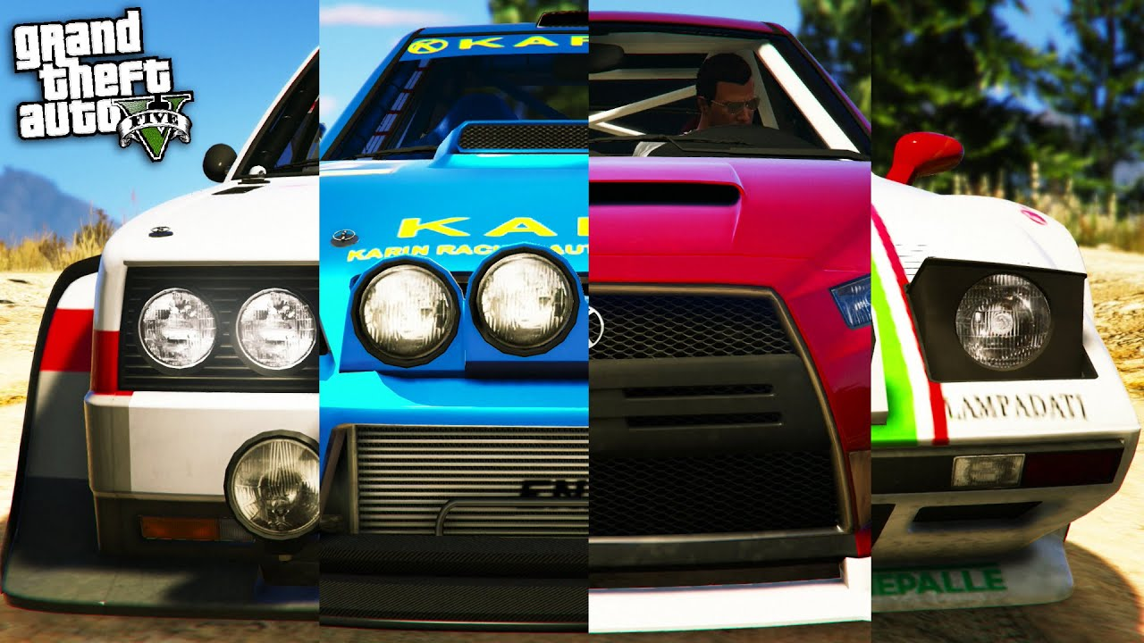GTA Online: Fastest Rally Car - Omnis vs Tropos vs Kuruma vs ...