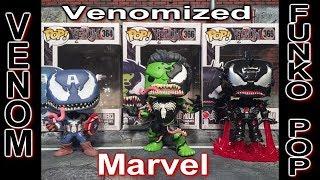 Venomized Captian America, Iron Man, & Hulk Funko Pop Unboxing & Review