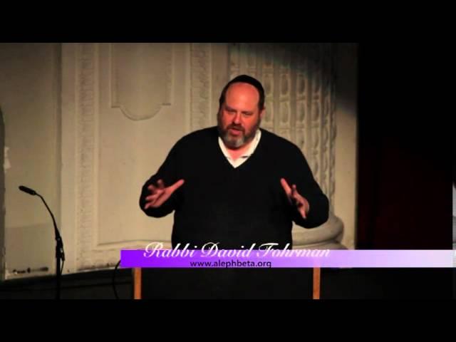 Monday, April 11, 2016: Rabbi David Fohrman