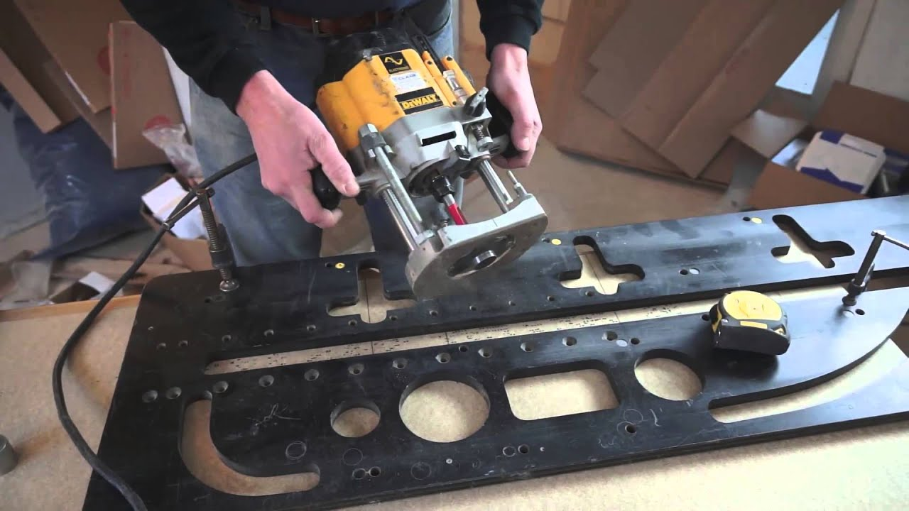 Tommy\'s Trade Secrets - How to Mitre a Worktop using a Router & Jig ...