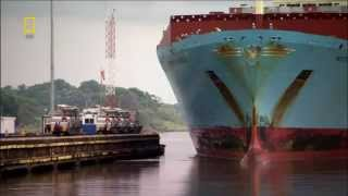 Panama Canal vessel video