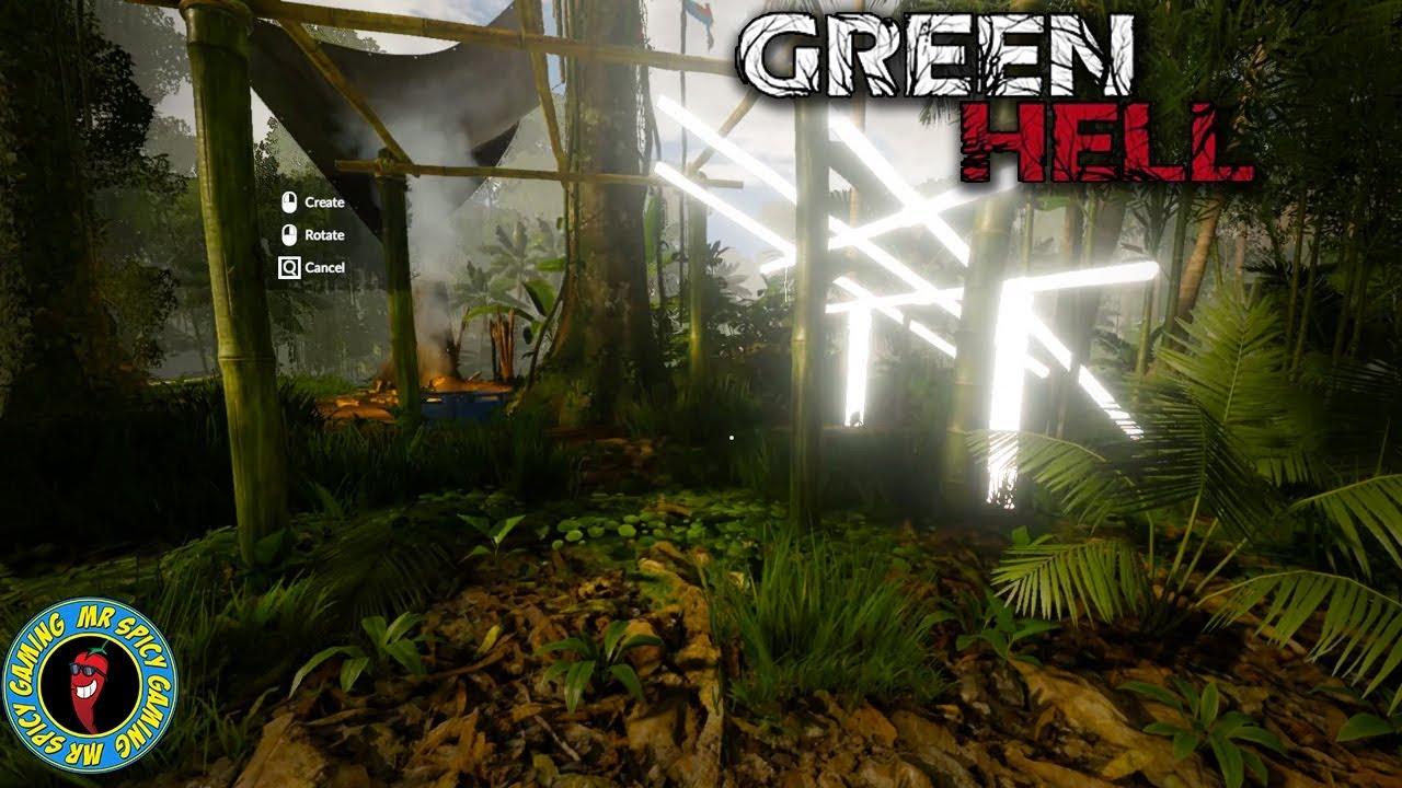 NUR BAUEN UND LANDSCHAFTEN - Green Hell Gameplay S1 Ep12 + video