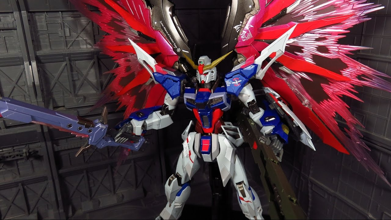 Metal Build Destiny Gundam Full Package Review Youtube