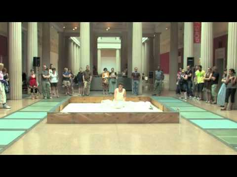 Chajana denHarder, Body Performance (excerpt#1), Corcoran Gallery of Art