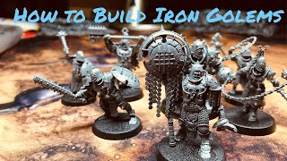 How To Build Iron Golems From Warhammer Age Of Sigmar: Warcry