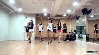 SISTAR - Give It To Me (dance practice) mirrorDV