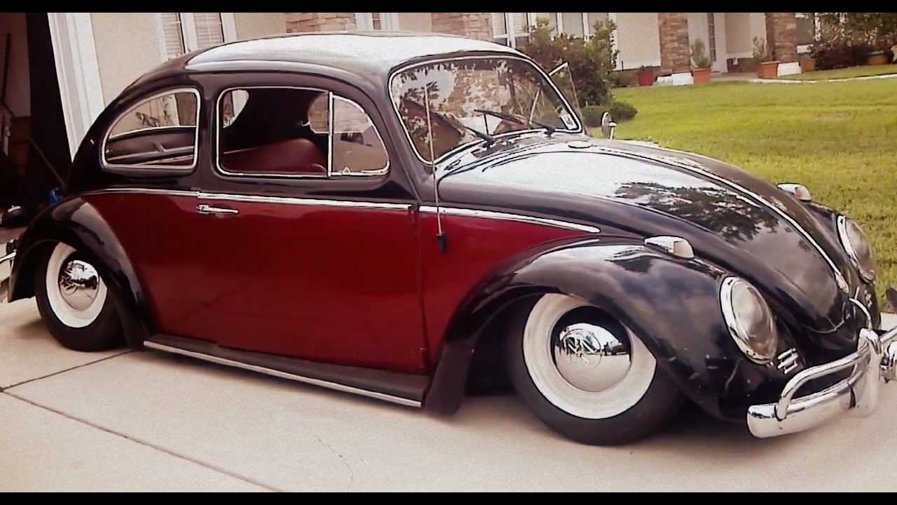 1962 vw beetle on air bags youtube. Black Bedroom Furniture Sets. Home Design Ideas