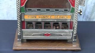 Fields Five Jacks Penny Drop Gambling Machine