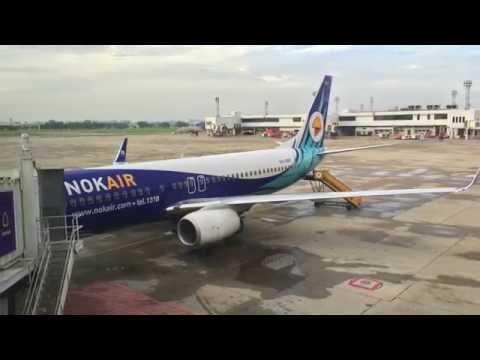 Nok Air Inaugural Flight DMK-KKC เที่ยวบินปฐมฤกษ์นกแอร์ ดอนเมือง-ขอนแก่น