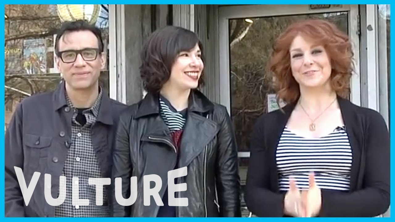 Download Portlandia's Fred Armisen and Carrie Brownstein Go Shopping at a Real Feminist Bookstore
